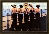 Afternoon on the Boardwalk Art by Jacqueline Osborn