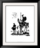 Don Quixote, c.1955 Print by Pablo Picasso