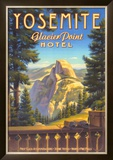 Yosemite, Glacier Point Hotel Posters by Kerne Erickson