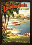 Fort Lauderdale, Florida Prints by Kerne Erickson