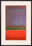 No. 6 (Violet, Green and Red), 1951 Print by Mark Rothko