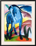 Blue Horse I Posters by Franz Marc