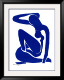 Blue Nude I, c. 1952 Posters by Henri Matisse