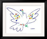 Dove of Peace Posters by Pablo Picasso
