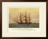 U.S. 44-Gun Frigate Constitution Prints by Harold Wyllie