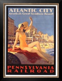 Pennsylvania Railroad, Atlantic City Posters by Edward M. Eggleston
