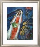 La novia (La Mariee) Imágenes por Marc Chagall