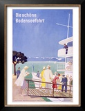 Bodensee, Fahrt Posters by Dietrich Bodman