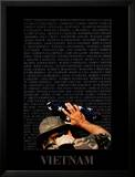 Vietnam Memory Wall Posters by Peter Marlow