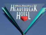 Sign for the Heartbreak Hotel, Memphis, Tennessee, USA Photographic Print by Walter Bibikow