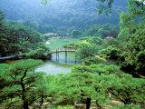 Dave Bartruff - Ritsurin Park, Takamatsu, Shikoku, Japan Fotografická reprodukce
