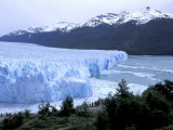 Santa Cruz Perito Moreno Glacier on Lake Argentina, Patagonia, Argentina Photographic Print by Lin Alder