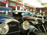 Peugeot Car Museum, Montbeliard, Sochaux, Jura, Doubs, France Photographic Print by Walter Bibikow