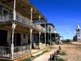 Scenic of 1880's Ghost Town, Murdo, South Dakota, USA Photographic Print by Bill Bachmann