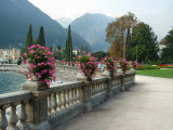 Mount Rocchetta, Riva del Garda Promenade, Lake Garda, Italy Photographic Print by Lisa S. Engelbrecht