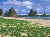 Sea Stacks, Yambaru Coastline, Okinawa, Japan Photographic Print by Rob Tilley