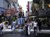 Buenos Aires Shopping, Calle Florida Pedestrian Mall, Argentina Photographic Print by Holger Leue