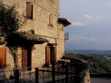 House on a Hilltop, Preggio, Umbria, Italy Photographic Print by Inger Hogstrom