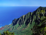 Na Pali Coast, Kauai, Hawaii, USA Photographic Print by Charles Sleicher