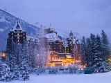 Banff Springs Hotel, Banff, Alberta Photographic Print by Michele Westmorland