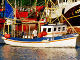 Fishing Boat in Port, Dunmore East, Ireland Photographic Print by Richard Cummins