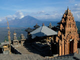 Hindu Temple Door near Gunung Batur in northern Bali, Indonesia Photographic Print by Paul Souders