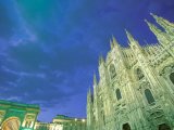 The Duomo, Lombardia, Milan, Italy Photographic Print by Walter Bibikow