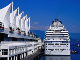 Island Princess Cruise Ship, Canada Place, Vancouver, Canada Photographic Print by Richard Cummins