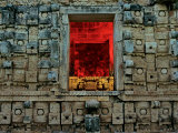 Kabah, God Chac, Yucatan, Mexico Photographic Print by Kenneth Garrett