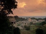 Palenque, Chiapas, Mexico Fotografiskt tryck av Kenneth Garrett