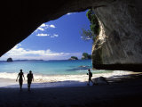 Cathedral Cove, Coromandel Peninsula Photographic Print by David Wall