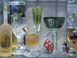 Crystal Ware in Shop, Budapest, Hungary Photographic Print by Dave Bartruff