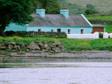 Cottage by Water, Ballyvaughan, Ireland Photographic Print by Richard Cummins