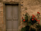 Tuscan Doorway, Castellina, Il Chianti, Tuscany, Italy Photographic Print by Walter Bibikow