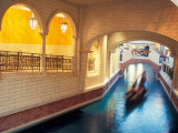 Grand Canal in the Venetian Hotel and Casino, Las Vegas, Nevada, USA Photographic Print by Brent Bergherm