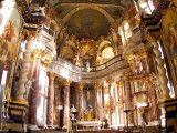 Hofkirche Chapel in the Residenz Palace, Baroque, Wurzburg, Germany Photographic Print by Bill Bachmann