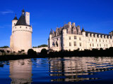 Chateau De Chenonceau in Loire Valley, Chenonceaux, France Photographic Print by John Banagan