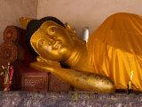 Reclining Buddha, Chiang Mai, Thailand Photographic Print by Kristin Piljay
