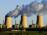 Nuclear Power Station Photographic Print by Mark Hamblin