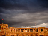 Storm Clouds Over Ministry of Finance and Economy Building, Yerevan, Armenia Fotografie-Druck von Stephane Victor