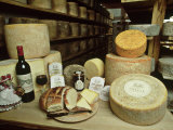 Llangloffan Farm Cheese, Castle Morris, Pembrokeshire Photographic Print by O'toole Peter