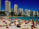 Waikiki Beach, Waikiki, United States of America Photographic Print by Richard I'Anson