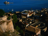Rooftop View of Nafplio from Akronafpila Fortress, Nafplio, Greece Photographic Print by Glenn Beanland