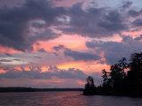 Lake of the Woods, Ontario, Canada Fotografisk trykk av Keith Levit