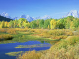 Teton Range, Grand Teton National Park, USA Photographic Print by Stan Osolinski