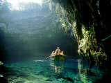 Kefalonia, the Underground Lake of Melissani Photographic Print by Ian West