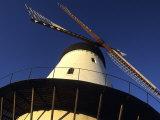 Detail of Windmill, Gudhjem, Denmark Photographic Print by Holger Leue