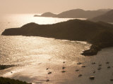 English Harbour at Sunset from Shirley Heights, English Harbour, Antigua & Barbuda Photographic Print by Holger Leue