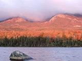 Mt. Katahdin at Dawn, Maine, USA Photographic Print by Mark Hamblin