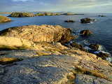 Coast at Sheigra in Evening Light, Scotland Photographic Print by Iain Sarjeant